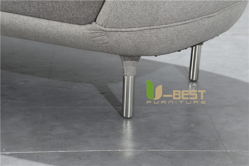 Nordic Simple Favn Sofa Coquille Sofa Multi Person Sofa 6