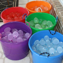 111pcs/pack Water Bombs Frozen Magic Balloons Kids Children Party Fillers Game Toys, outdoor toy balloons Summer Fun, Songkran
