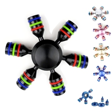 Buy Hexagonal Metal Fidget Puzzle Spinner Detachable Waterproof Spinner EDC Hand Rudder Finger Spinner Relieve Stress Adult Kid Toy for $3.29 in AliExpress store