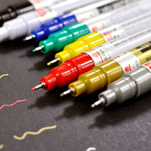 paint pen 0.7MM very fine needle tube pen metal DIY album graffiti hand-painted color pen Oil Paints(China)