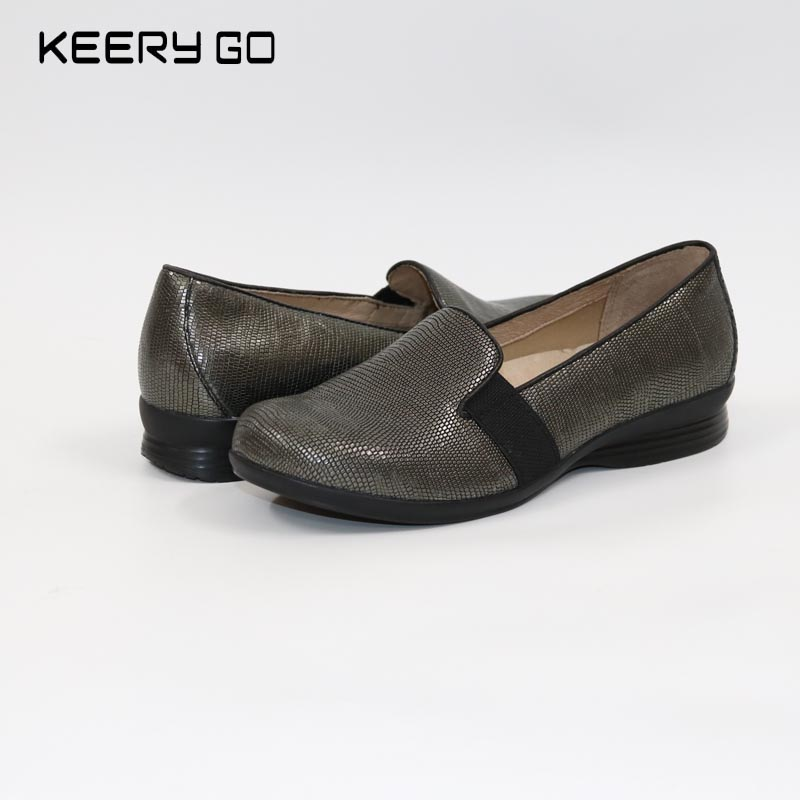 New arrival first layer of cowhide wedges womens shoes super comfortable single shoes health shoes leather 36 - 41 <br>