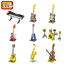 LOZ Musical Instruments Series Diamond Building Blocks DIY Toy Kids Children Educational Model Offical Authorized Distributer