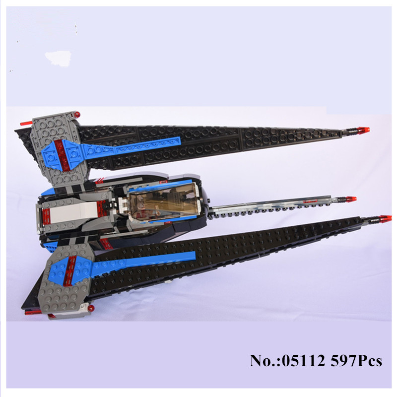 H&amp;HXY IN STOCK 597pcs Star 05112 Series Wars Limited Edition Building Blocks Bricks Model lepin Toys  Children Educational Gifts<br>
