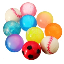 New Arrival High Quality 10Pcs Colorful 27mm Bouncy Jet Balls Kids Toy For Pinata Outdoor Toys Fillers Leisure Time