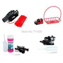 Bubble Blower / Hang Basket / Bullet / Water Cannon Parts For WLTOYS V959 V222 V262 V912 4CH 2.4GHZ RC Helicopter
