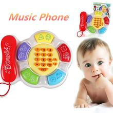 Free Shipping 2017 Hot Intelligence Education Toy Gift Kids(0-3) Cartoon Music Telephone Children baby