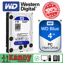 Western Digital WD Blue 4TB hdd sata 3.5 disco duro interno internal hard disk harddisk hard drive disque dur desktop hdd 3,5 PC