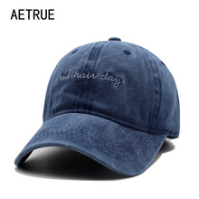 AETRUE Fashion Women Baseball Cap Men Casquette Snapback Caps Hats For Men Brand Bone Vintage Bad Hair Day Adjustable Caps New