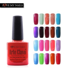 Gel Lacquer 79 Colors Arte Clavo10ml Nail Art Products Gel UV Polish Soak Off Gel Polish
