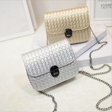 New woman single shoulder bag Fashion Female bag knitting chain small Bags