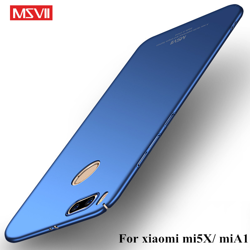MSVII-Coque-For-Xiaomi-Mi-5X-Mi5X-Case-360-Full-Body-Cases-Hard-Frosted-Smooth-PC