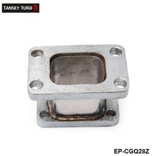 TANSKY - T3 TO T25  STAINLESS FLANGE TURBO CHARGER MANIFOLD EXHAUST CONVERSION ADAPTER EP-CGQ28Z