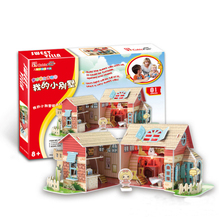 Development of intelligence,Educational toys,good quality,foam,emulational,gifts,paper model,LED lights,light house,3D PUZZLE