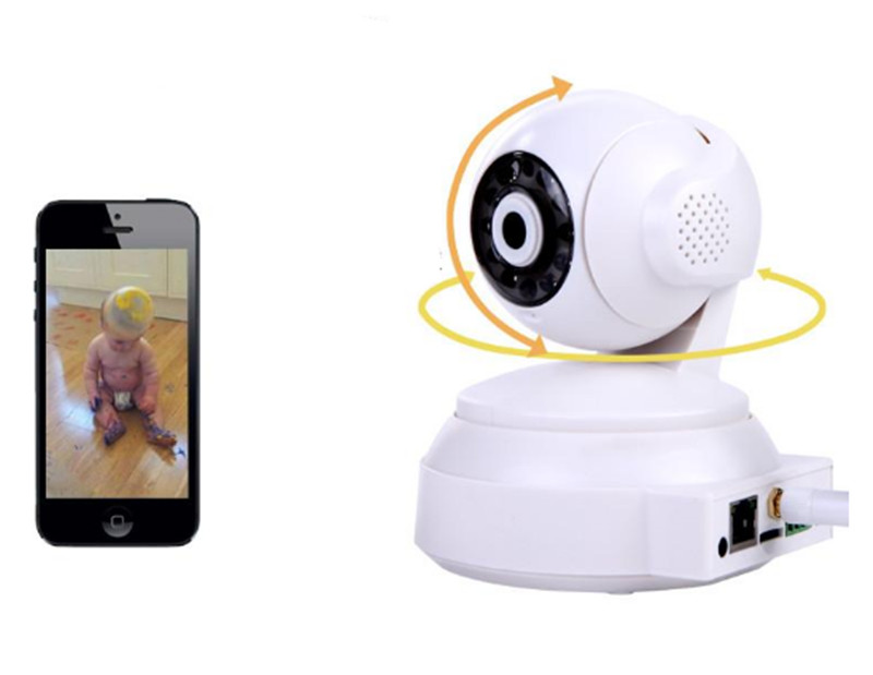 720P Wireless IP Cloud Camera Two Way Intercom <br>