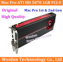High-End original for Mac Pro ATI HD 5870 1GB PCI-E video graphic card for mac pro 1st gen & 2nd gen video card High Quality