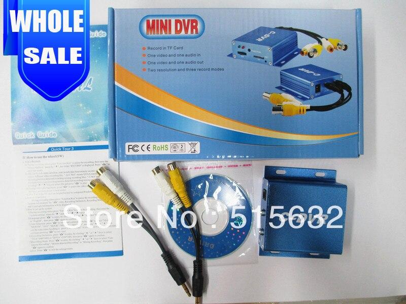 Mini C-DVR Video/Audio Recorder Motion Detection TF Card Recorder<br><br>Aliexpress