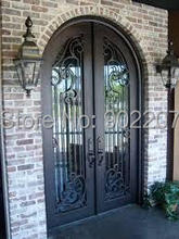 Custom design 2m x 2.2m  Wrought Iron Entry  Double Doors