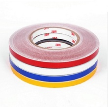 1cm x 10M Reflective 3M Tape Stickers Motorcycle Car Truck  Universal Used Sticker Trim Body Kit