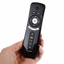 T2 Fly Air Mouse Remote Control 2.4GHz Wireless 3D Gyro Motion Stick Mini Keyboard For 3D Game PC Android TV Box Google TV