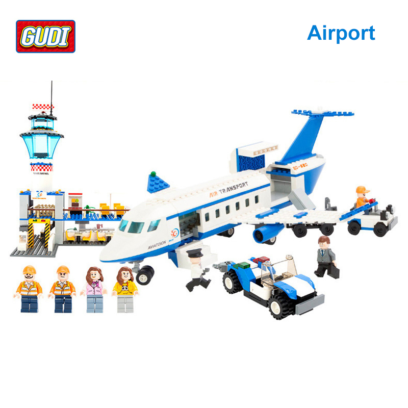 GUDI Aviation Series Airport Building Blocks Compatible with Aircraft Blocks Toys for Children Boys Education Blocks 8912<br><br>Aliexpress