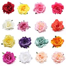 LNRRABC  Fashion Women Girls Rose Flower Beach Brooch Hair Pins Clips Slides Grip Wedding Bridal Hair Accessory