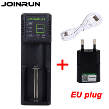 Joinrun N1 Li-ion Battery Charger 18650 battery charger For 18650 14500 16340 26650 Ni-MH Ni-Cd AA AAA AAAA Battery EU Plug(China)