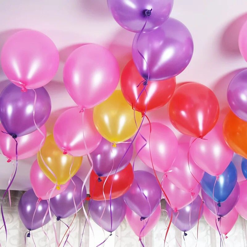 cheap 100pcs 10'' 1.2g Round Shape Latex Pearl Balloons Party Decorate Valentine's Day Happy Birthday Wedding Decoration Balloon 2