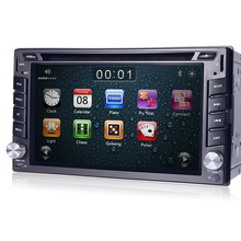 "Craze Sales GPS Navigation6.2"" 2 Din Car DVD Player  iPod Radio FM AM  RDS BT iPod  Game DVD USB SD AUXIN HD 1080P 3G SWC VCMD"