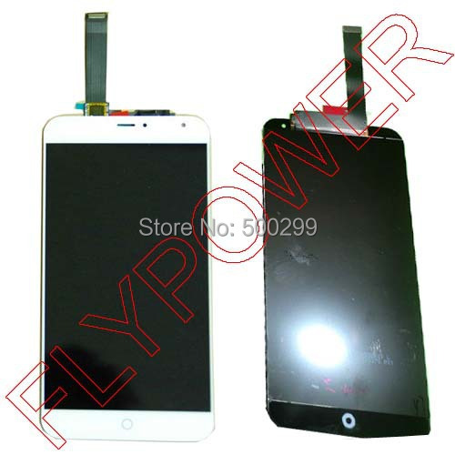 100% New For Meizu MX4 LCD Display +Touch Digitizer Screen Complete White  by free shipping<br><br>Aliexpress