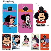 HongJiang Cartoon Mafalda Amazing case cover for For Motorola moto G6 G5 G4 PLAY PLUS ZUK Z2 pro BQ M5.0(China)