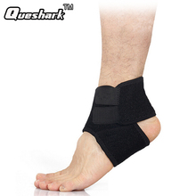 1Pcs Elastic Ankle Support Adjustable Sports Ankle Support Brace Pad Foot Wrap Strap Protector Football Basketball Sports Safety
