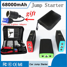 2017 Starting Device Portable 68000mAh Car Jump Starter Power Bank 12V Car Charger For Car Battery Booster Diesel Buster Starter
