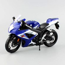 1:12 Quality kids Mini Motorcycle SUZUKI GSX-R 750  Die cast model motor bike Alloy metal models race toys for collection gift
