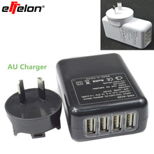 Effelon 5V 2.1A AU Plug USB Wall Adapter Mobile Phone Charger for iPad 2 3 4 for iPhone 5/5C 5S 4/4S for iPod Touch