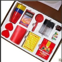 Magic box/ luxury gifts/Children's magic/best gift/Kids Magic Kit Magic Tricks with Instruction(China)