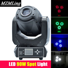 LED 90w RGBW Spot Light DMX512 Moving Head Light DJ /Bar /Party /Show /Stage Light(China)