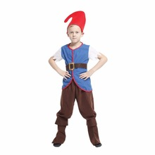 Shanghai Story Movie anime Snow White and Seven Dwarfs Cosplay Custom For Kids Children's Carnival Halloween Party Clothing Set