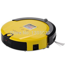 1pcs AmTidy A325 Multifunction Intelligent Home Robot Mini Vacuum Cleaner with Sweep Vacuum Mop Sterilize LCD Touch Screen(China)