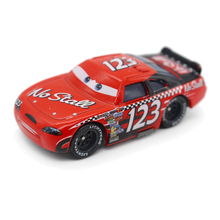 100% Original Pixar Cars NO.123 Racer 1:55 Scale Diecast Metal Alloy Model Car Brio Cute Toy For Kids Gifts(China)