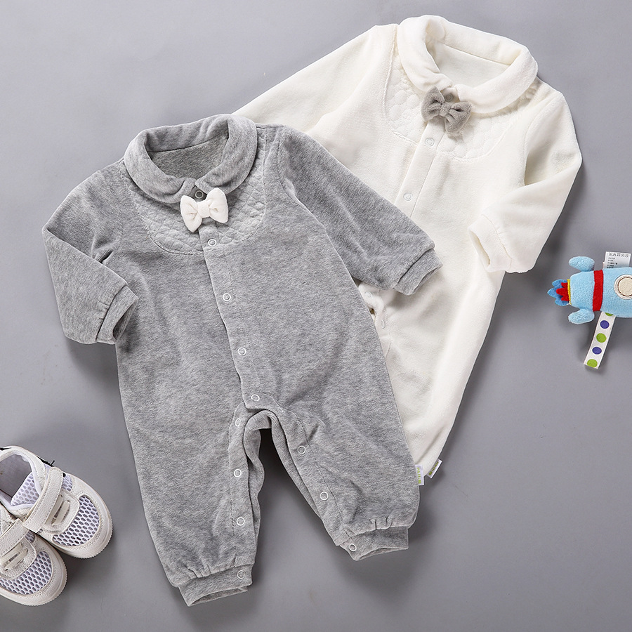 Baby Coverall clothing thick warm fall and winter clothes newborn baby outside in winter climbing clothing Romper<br><br>Aliexpress