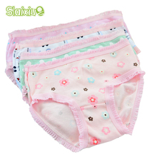 12 Pcs/Lot 200-Kinds Style Girls Briefs Organic Cotton Kids Baby Underwear For Girl Children's Panties Baby Clothing 2-10 y(China)