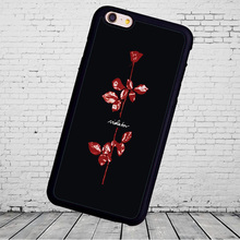 Stylish Popular Depeche Mode hard Printed Soft Rubber Phone Case For Fundas iPhone 7 7Plus 6 6S Plus 5 5S 5C SE 4S Capa Para