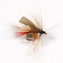 10PCS Caddis Foam Fly Fishing Trout Dry Fly Mayfly Bait #14