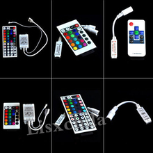DC12-24V Mini 3/24/44 Key IR Remote Wireless Controller Dimmer Dynamic Mode Infrared For 5050 3528 3014 RGB Led Strip Light(China)