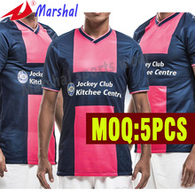 Hot sale soccer uniform For 2015 cheap soccer shirts sublimation thailand quality soccer jersey(China)