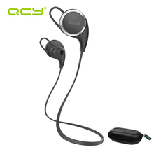 QCY QY8 sets Sports Running Headphones BT V4.1 Wireless Bluetooth Headset with MIC & storage box for Iphone Android phones