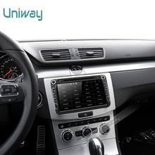 Uniway 2G+32G 2 din android car dvd for vw polo passat b6 b5 golf 4 5 tiguan skoda octavia rapid fabia car radio gps navigation(China)
