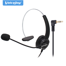 2.5mm Plug headset Noise cancelling microphone for CISCO Linksys SPA Polycom Grandstream Panasonic Zultys & Gigaset IP phones