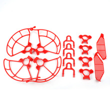 Propeller Guards Landing Gear Finger Guards 3in1 Set Blade Protection Cover for Mavic Pro Spark Drone Quadcopter