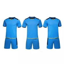 Full Sublimation Soccer Jersey Training Uniform Kids Football Shirt Best Polyester Sports blank soccer jerseys FG-03(China)